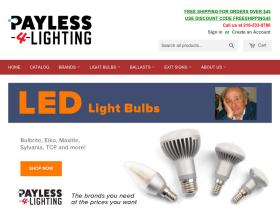 Payless-4-lighting.com Promo Code