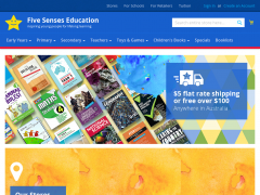 Five Senses Education AU Promo Code